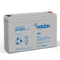 Аккумуляторная батарея MERLION AGM GP610F2 6 V 10Ah  ( 151 x 50 x 100 ) Q10