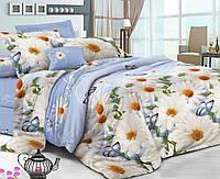 Семейное постельное белье с простыню на резинке 180*200*34 - Забава, сатин 100% хлопок