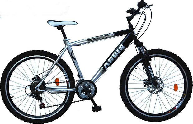 """Подростковый велосипед ARDIS X-CROSS MTB 24"""" 15"""" Серый/Черный"""