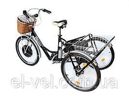 Трехколесный велосипед для взрослых 36В 500Вт