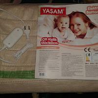 Электрогрелка-плед-простынь с терморегулятором (1200 мм*1600 мм) производство - Турция