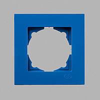 Рамка 1-ая голубая Eqona