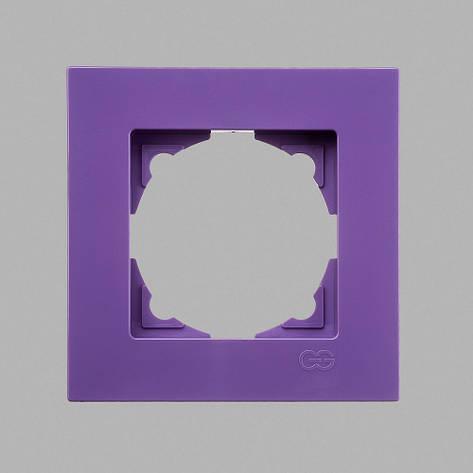 Рамка 1-ая лиловая Eqona, фото 2