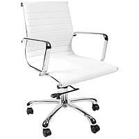 Кресло офисное ULTRA  white/chrome