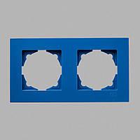 Рамка 2-ая голубая Eqona
