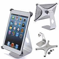 360 градусов вращающийся алюминиевый держатель сплава таблетка для рабочего стола iPad Mini 1 2 3
