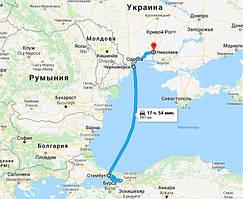 Стамбул, Турция - Черноморский морской порт - Николаев, Украина
