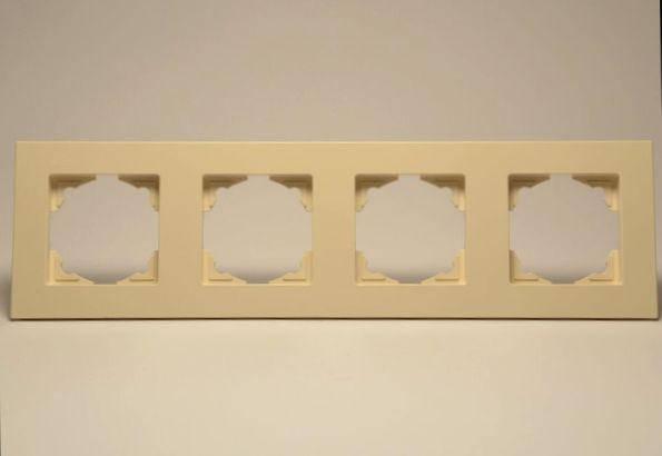 Рамка 4-я  крем Eqona, фото 2