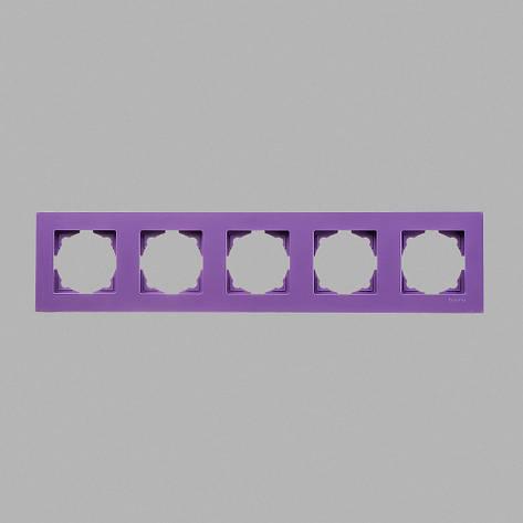 Рамка 5-ая лиловая Eqona, фото 2