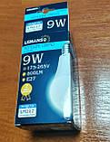 Лампа LED светодиодная 9 Вт 800Lm Е27 шар LM217, фото 2