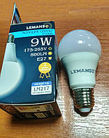 Лампа LED светодиодная 9 Вт 800Lm Е27 шар