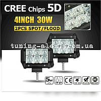 """LED Прожектор """"PREMIUM"""" 5D Combo 30W/6 led/100мм"""