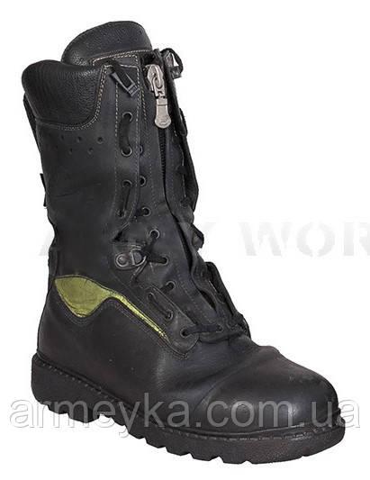 Огнестойкие кожаные пожарные ботинки (берцы) Jolly 9052/G Crosstech Fire Boot. Великобритания, оригинал.