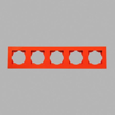 Рамка 5-ая оранжевая Eqona, фото 2