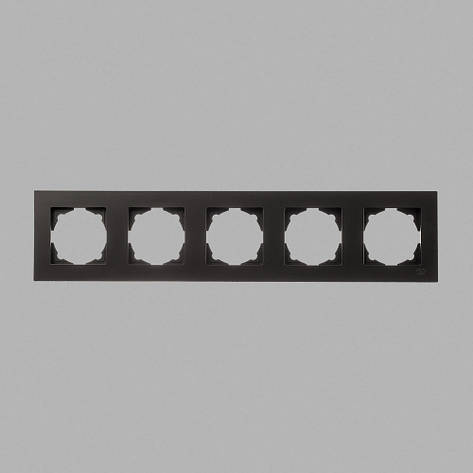 Рамка 5-я черная Eqona, фото 2