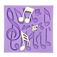 Музыкальные ноты Fondant Cake Mold Силиконовые формы для выпечки хлеба