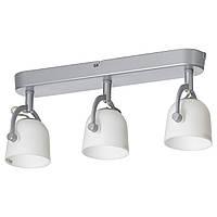 IKEA SVIRVEL Потолочная полоса, 3 отражателя  (703.044.99)