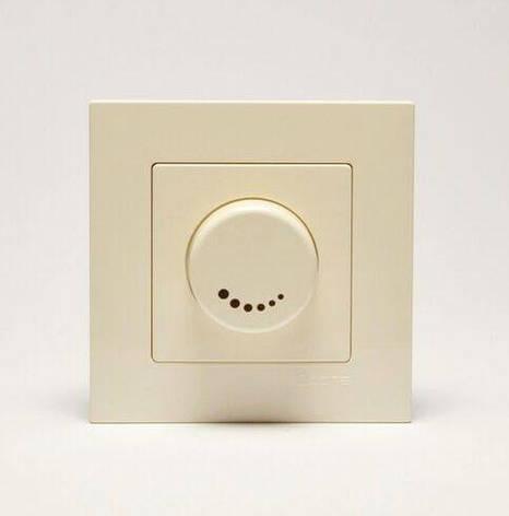Светорегулятор 600Вт крем Eqona, фото 2