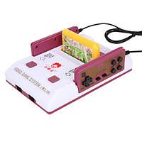 Subor D99 8 бит видео ТВ Classic Игровая консоль с 2 игровыми контроллерами и Nes FC Games Card