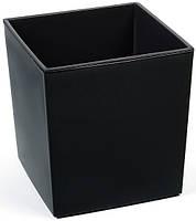Горшок Lamela Juka25 (Ламела Юка) Черный, фото 1