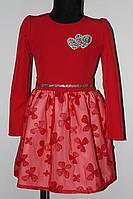 Детское нарядное платье со стразами от 2 до 5 лет