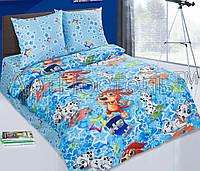 Детское постельное белье в кроватку Скейтборд, поплин 100%хлопок