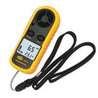 Анемометр - цифровой измеритель скорости ветра GM816. Метеорологический прибор. Отличное качество. Код: КГ2716