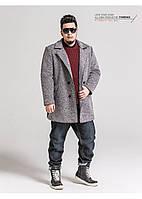 Мужское пальто большого размера. Модель 1198