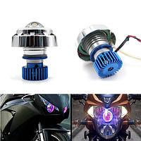 12v мотоцикл LED привет/луч лазера вот 6 цветов глаза ангела красные злые глаза белые лампы
