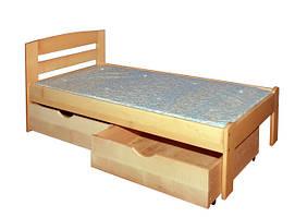 Односпальні дерев'яні ліжка