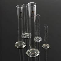 5/10/25/50/100мл стекло мерный цилиндр закончил трубки круглое основание и излив