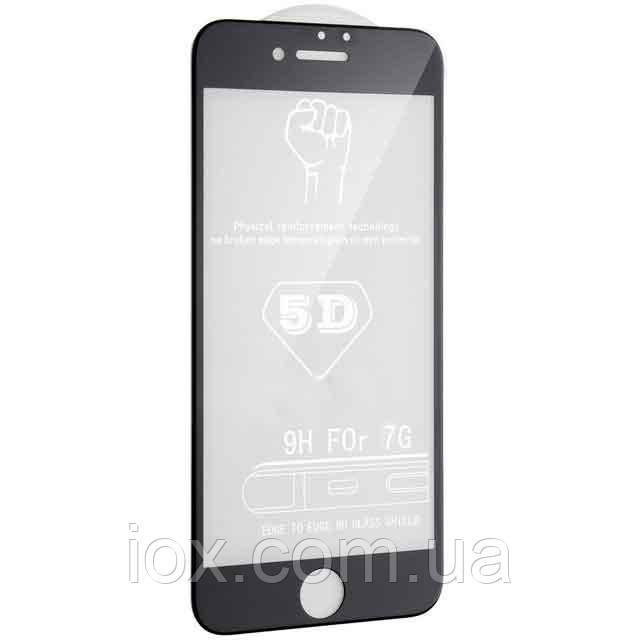 Защитное 5D стекло на экран для iPhone 7 / iPhone 8