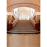 5x7ft 1.5x2.1m красоты великолепный свадебный дворец фотографии фон винил ткань фон