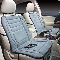 4colors универсальный сиденье автомобиля грелку крышка бархат зима теплая подушка с подогревом 12 В постоянного тока