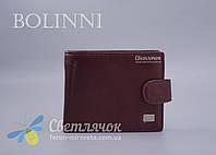 Кошелек мужской кожаный Bolinni коричневый