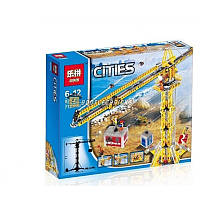 "Конструктор Lepin 02069 (аналог Lego City 7905) ""Высотный кран"", 778 дет"