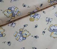 Детское постельное белье в кроватку Топтыжка, бязь