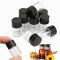 2 мл Прозрачные стеклянные бутылки Экспериментальные баллы Бутилирование 15 × 25 мм