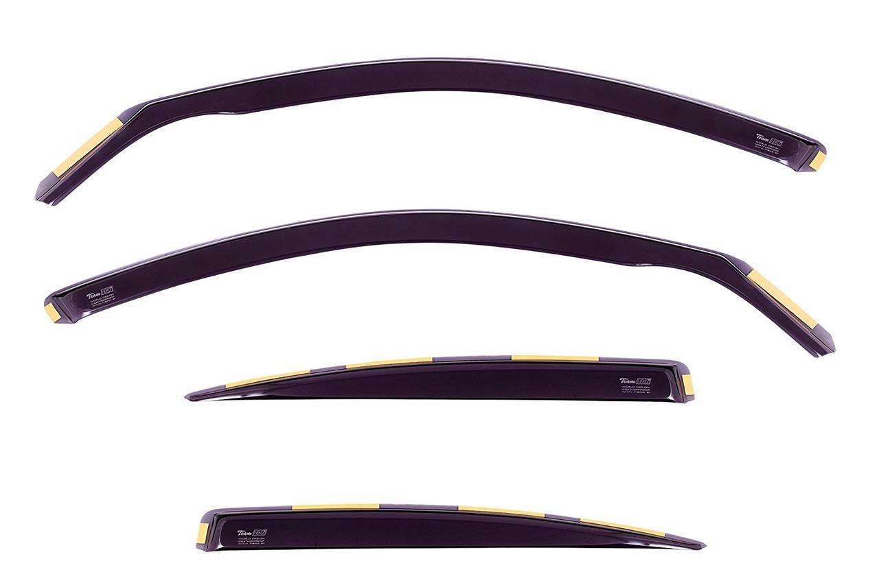 Дефлекторы окон (ветровики) BMW 3 Series Е90 2005 -2010 4D / вставные, 4шт/