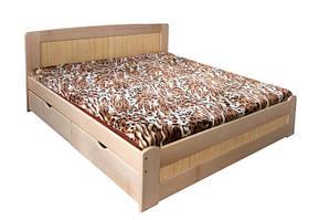 Двохспальні дерев'яні ліжка