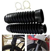 Мотоцикл передняя вилка черная куртка резиновые сапоги пылезащитный чехол 200x50x38mm