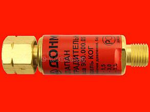 Обратный клапан на пропановый и ацетиленовый редуктора 9мм ДОНМЕТ 950.000.27