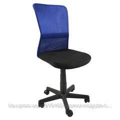 Ортопетическое детское компьютерное кресло BELICE  Black/Blue
