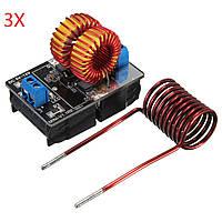 3шт Geekcreit® 5V-12V ZVS индукционного нагрева питания модуля с батарейным