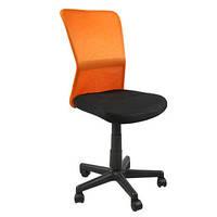 Кресло ортопетидеское компьютерное для детей BELICE  Black/Orange