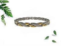 Магнитный титановый браслет змейка 4В1 Вековой Восток