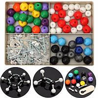 240 штук атом молекулярные модели комплект комплект общего и органической химии научный