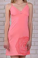 Ночная сорочка из вискозы женская вискозная сексуальная ночнушка красивая нежная трикотажная