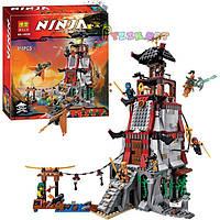 "Конструктор BELA Ninja 10528 ""Осада маяка"" - аналог Lego Ninjago 70594, 815 дет , фото 1"