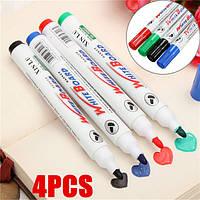 4 цвет комплект белая доска фломастеров белая доска сухого стирания маркера отлично 2мм СИБ